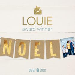 Pear Tree Greetings is named a LOUIE Award winner!