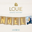Pear Tree Greetings Wins 2nd LOUIE Award