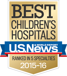 UC Davis Children's Hospital has been ranked by U.S. News & World Report among the nation's top hospitals in five pediatric specialties.
