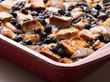 Blueberry Biscuit Pudding