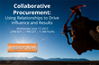 Puridiom Procure-to-Pay presents Collaborative Procurement webinar