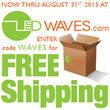 Free Shipping on All Orders at LEDWaves.com