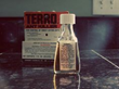 Vintage bottle of TERRO Ant Killer