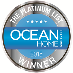 Ocean Home Magazine's 2015 Platinum List