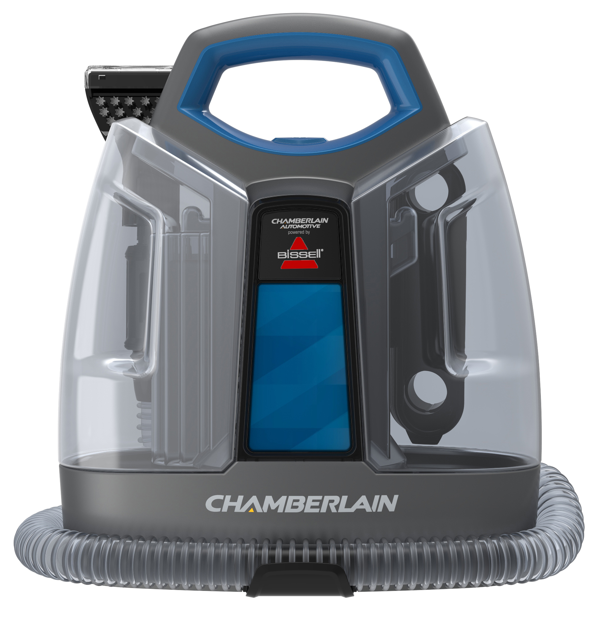 chamberlain automotive deep cleaner powered by bissell launches an innovative portable car. Black Bedroom Furniture Sets. Home Design Ideas