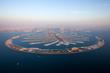 An aerial view of Dubai