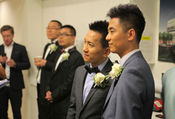 West Hollywood's Historic Wedding for Seven Chinese Couples