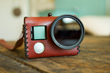 Capture Vintage Lifestyle with a Leather Case for GoPro®