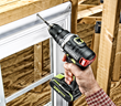 Rockwell 20V Brushless Drill-Driver installing window.
