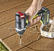 Rockwell 20V Brushless Impact Driver building deck.