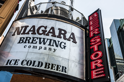 Niagara's newest craft brewery - Niagara Brewing Company is now open on Clifton Hill in Niagara Falls.