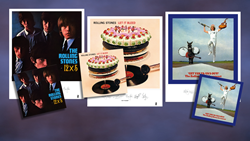 Exclusive Limited Edition Clear Vinyl + Album Art Lithographs  Of The Rolling Stones 12 X 5, Let It Bleed And 'Get Yer Ya-Ya's Out!'