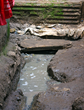 Open sewage runs through communities in the Kibera slum in Nairobi, Kenya.