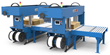 Mosca Tandem Corrugated Bundle Squaring/Strapping System Raises the Bar