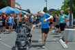 Roy Wiegand at mile 60 of the 2014 Roy's Run for Christopher.