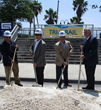 Gulf Building LLC Breaks Ground On Construction of South Florida Regional Transportation Authority (SFRTA) Operations Center and Pompano Tri-Rail Improvements