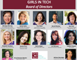 GIRLS IN TECH Appoints Ten Inspiring Executives To Its Board of...