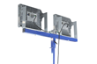 Quadpod Mounted Explosion Proof LED Work Light that produces 26,000 lumens of light