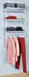 Easy to install, environmentally friendly closet organizers.