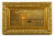 D. Jerome Elwell,(American 1847-1912) Venetian Harbor Scene, O/C