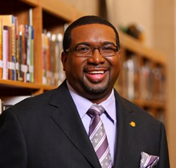 Photo of Nathan Currie, who has been named principal of North Carolina Connections Academy