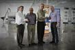 Juan Carlos Tinoco (FlexPak), Raul Matos (Karlville), Bill Dinauer (FlexPak), John Price (Karlville)