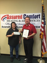 Assured Comfort Lennox Donation