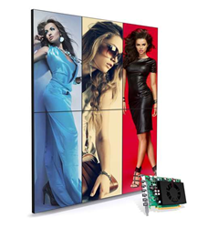 Matrox C680 multi-display graphics card certified by Scala to drive digital signage software.