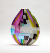 Jeffrey P'an's glass vessel is one of the pieces you can find at the Berkshires Arts Festival
