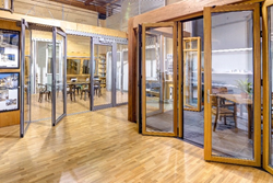Nanawall systems opens its flagship l a showroom for Cost of nanawall systems