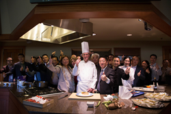 Thompson Education Center and China Cuisine Association visited the Culinary Institute of America