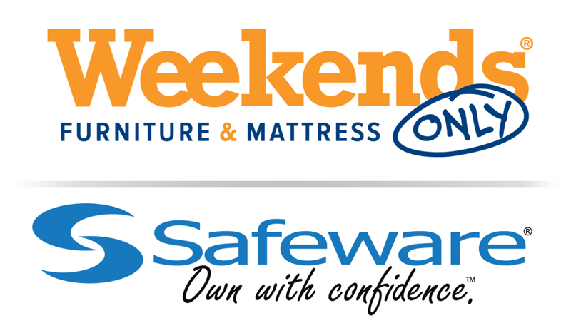 safeware partners with weekends only to administer their furniture