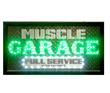 Muscle Car Garage Animated LED Sign