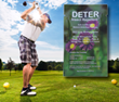 Deter Outdoor Skin Protection Is Providing Insect Repellent for the US Open Golf Tournament, Held June 15-21, 2015, at Chambers Bay, Washington