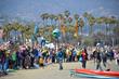 Rally for renewable energy at Santa Barbara's West Beach, May 31 2015