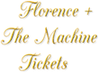 Florence + the Machine Tickets: Ticket Down Slashes Ticket Prices in Phoenix, San Diego, Santa Barbara, Berkeley, Portland, Vancouver & Seattle