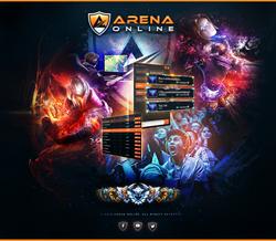 Arena Online Platform Graphic