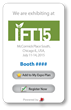 IFT Cultivates Positive Exhibitor Experience at IFT15 Annual Conference with eBooth Promotion Widget Powered by a2z