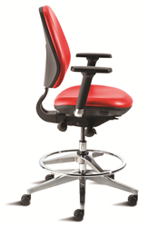 MVMT critical performance ergonomic clean room laboratory technical chair seating BioFit