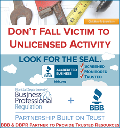 As Part of Unlicensed Activity Awareness Week June 15 - 19, BBB & DBPR Attack Unlicensed Activity Scams to Protect Floridians