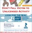 As Part of Unlicensed Activity Awareness Week June 15 - 19, BBB &...