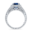 The Royal Alyssa Ring for Alyssa Campanella from Torrance Coombs by INTA Gems & Diamonds