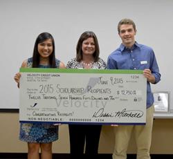 Velocity Credit Union 2015 Scholarship Winners