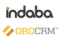 Indaba Group & OroCRM Logos