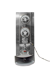 Hazardous Location Signal Stack Light with Two 10 Watt LED Lights