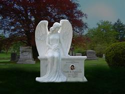 White Angel Bench