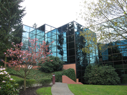 The exterior of the Pole To Win (PTW) Bellevue, WA office