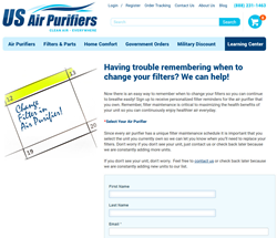 filter reminders, air purifier filters, free filter program