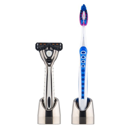 FLYT Solo Stand for razors and toothbrushes