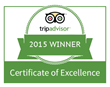 Best Western Premier Eden Resort & Suites Awarded 2015 TripAdvisor Certificate of Excellence